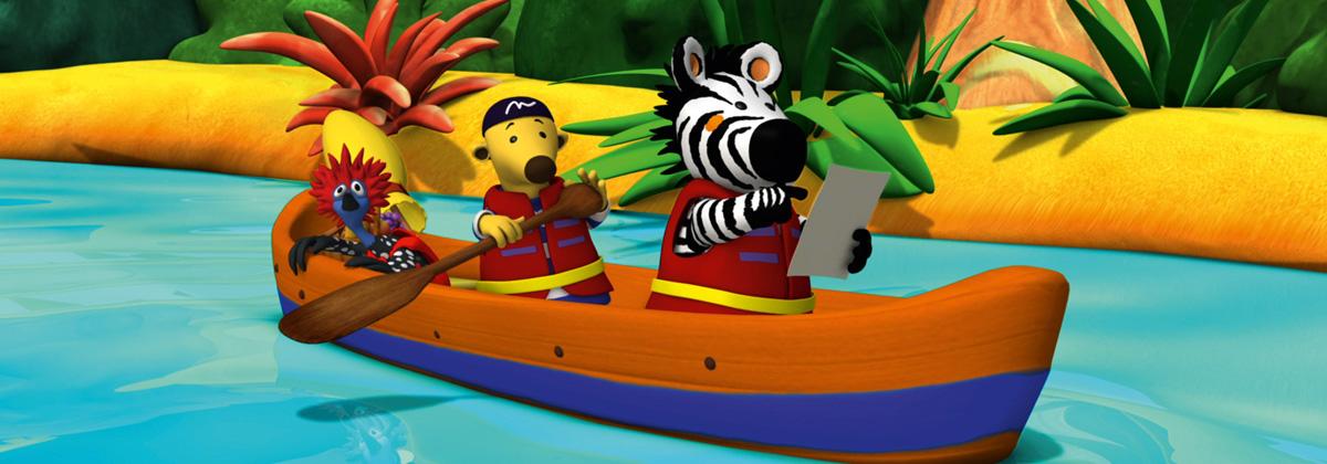 header image Zigby, das Zebra