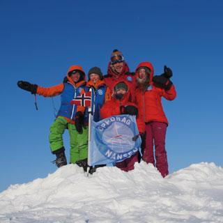 Brand image Die Arktis-Mission