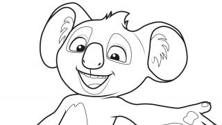 Download image Blinky Bill Ausmalbild 2
