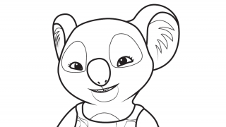 Download image Blinky Bill Ausmalbild 4