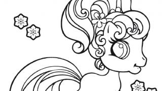 Download image My Little Pony Ausmalbild 1