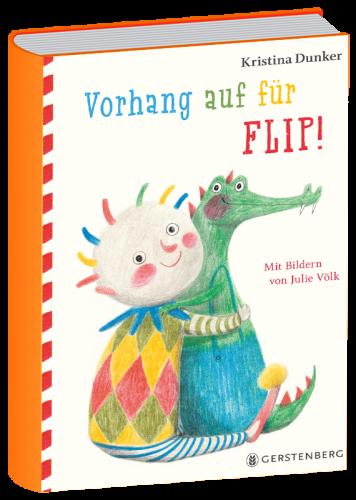 Book image Vorhang auf für Flip! Kristina Dunker