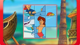 Spiele image Flipper und Lopaka: Verschiebepuzzle