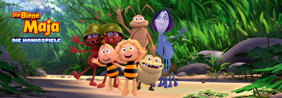 header image Die Biene Maja – Die Honigspiele