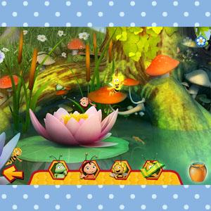 App image Die Biene Maja App: Blumenspiel