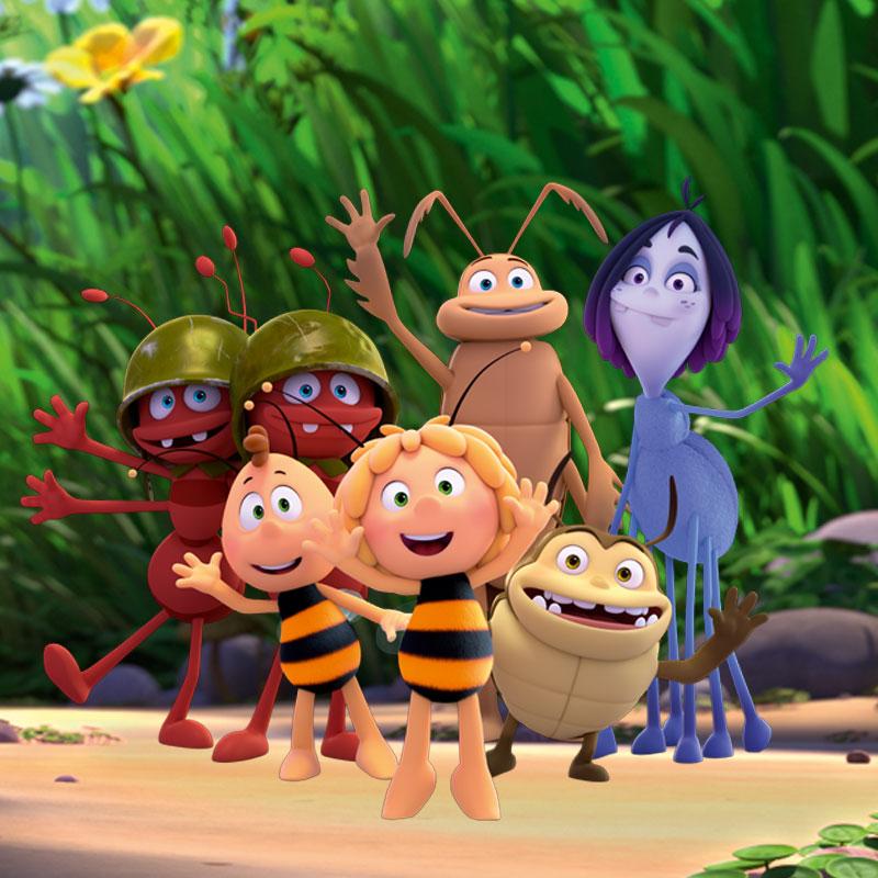 News image Weltbienentag mit der Biene Maja
