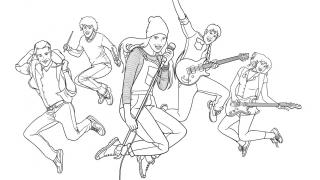 Download image Ghost Rockers Ausmalbild