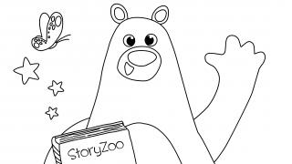 Download image StoryZoo Ausmalbild Bax