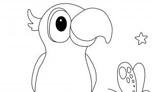 Download image StoryZoo Ausmalbild Pepper