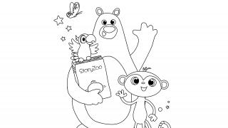 Download image StoryZoo Ausmalbild