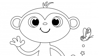 Download image StoryZoo Ausmalbild Toby