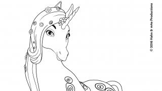Lyria Mia Malvorlage Coloring And Malvorlagan