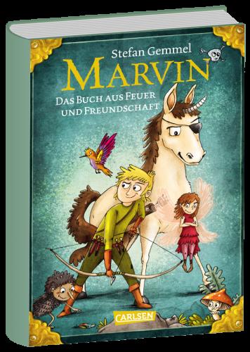 Book image Marvin: Das Buch aus Feuer und Freundschaft – Stefan Gemmel