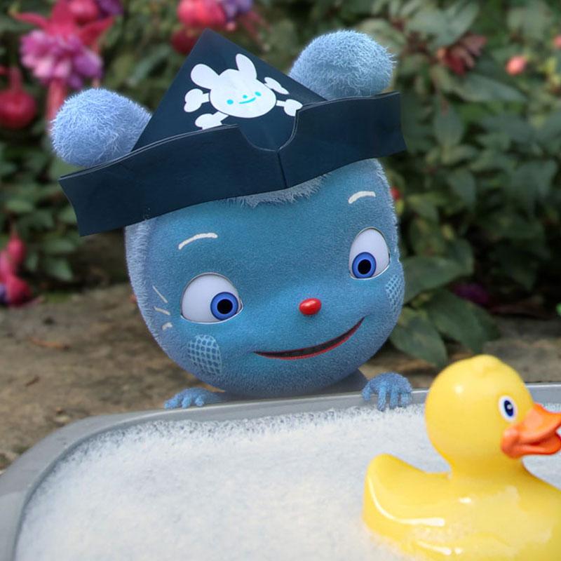 News image Blaues Kuschelmonster