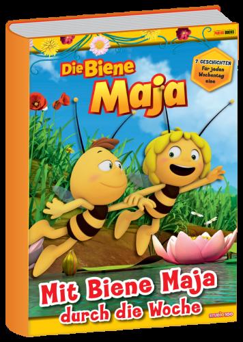Book image Die Biene Maja – Mit Biene Maja durch die Woche