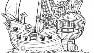Download image Piet Pirat Ausmalbild 1