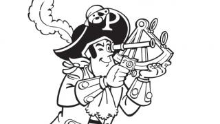 Download image Piet Pirat Ausmalbild 9