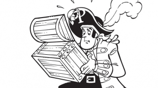 Download image Piet Pirat Ausmalbild 17