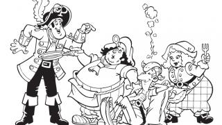 Download image Piet Pirat Ausmalbild 20