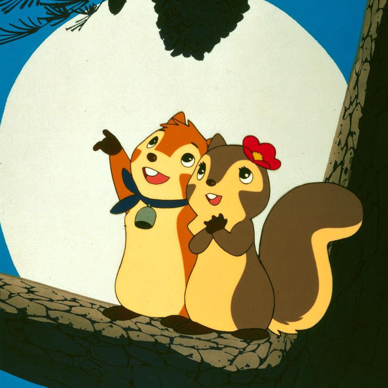 News image Eichhörnchen mit Glöckchen