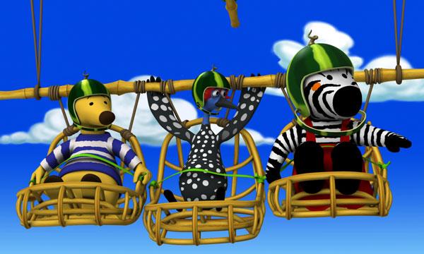 Quiz image Quiz Zigby, das Zebra