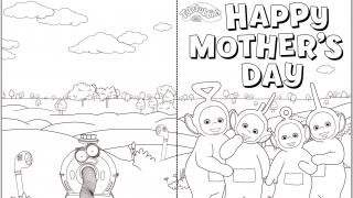 Download image Teletubbies Muttertagskarte