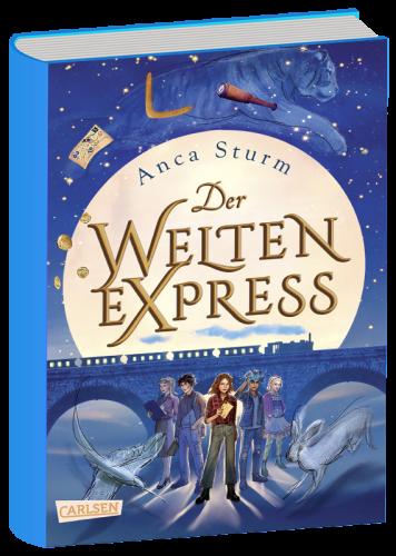 Book image Der Welten-Express 1 – Anca Sturm